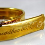 Gold-plated maternity bracelet
