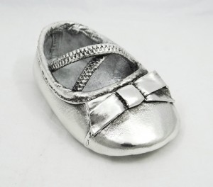 Ribbon Shoe s4e coated with silver