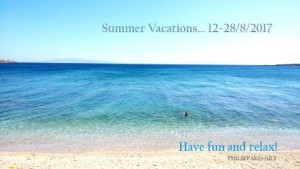 Summer Vaction Greetings 2017
