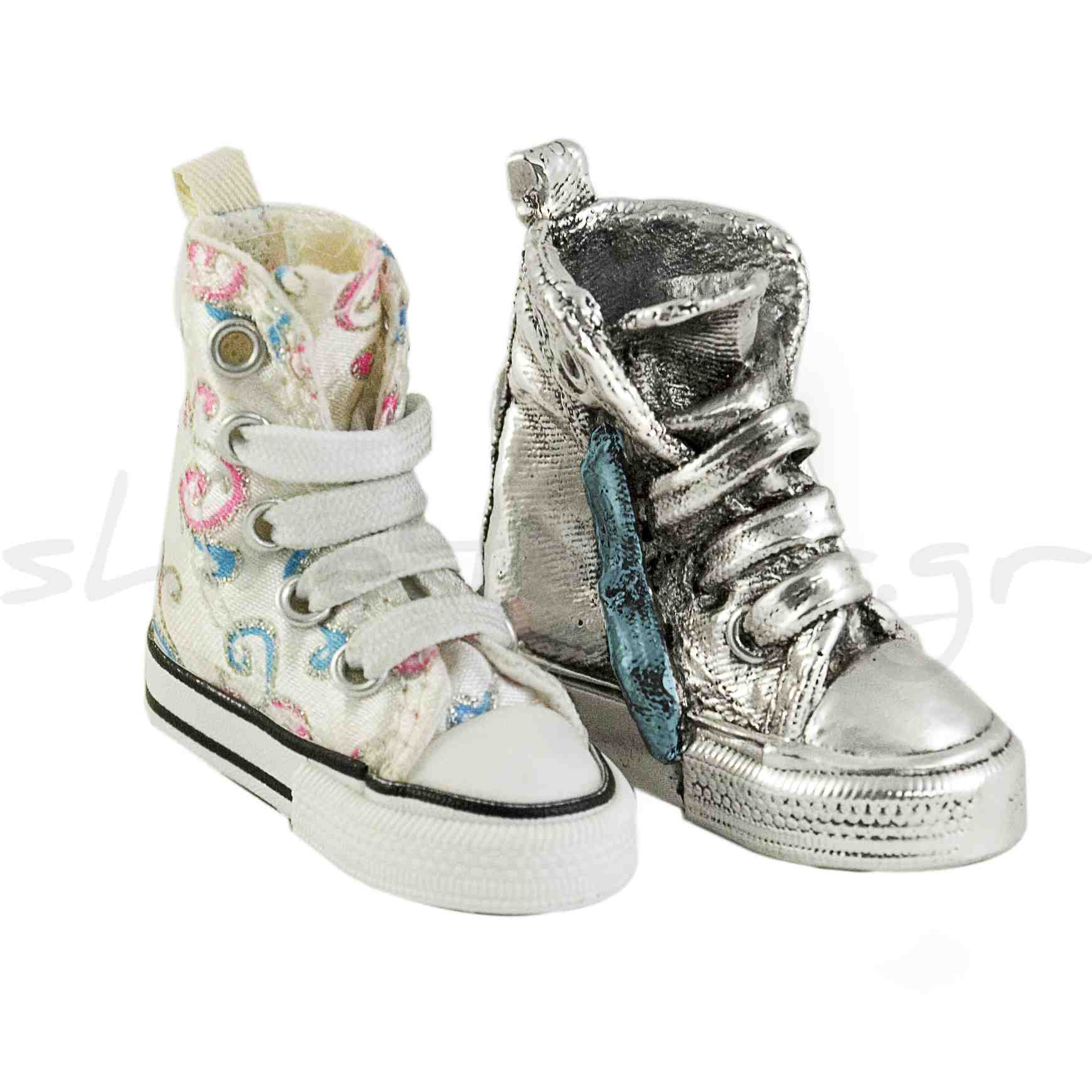 shoes with watermark