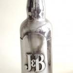 j&b bottle silver