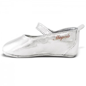 Silver-plated shoe