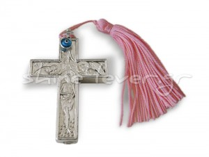 """""""Ressurection"""" Double face Silver 999° Cross"""