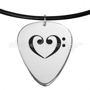 Silver 925° guitar-pick