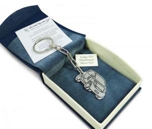 "Silver 925° ""smart"" car key-ring"